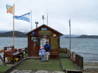 Ushuaia, Argentina ( at the Southernmost post office in the world!)
