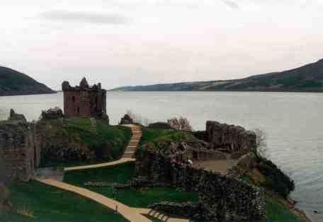 Urquhart Castle, on Loch Ness, Scotland